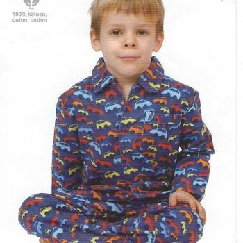 pyjama flanelle autos 4 ans en PROMO
