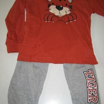 pyjama coton pour garçon de 8 ans - tigre en PROMO