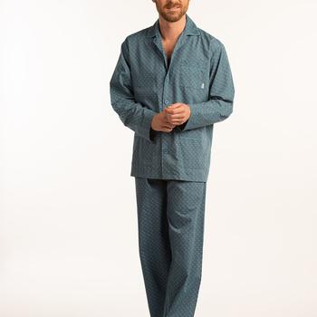 pyjama boutonné tergal (coton/polyester) pour homme - alberick clair - M L 5XL 6XL à partir de