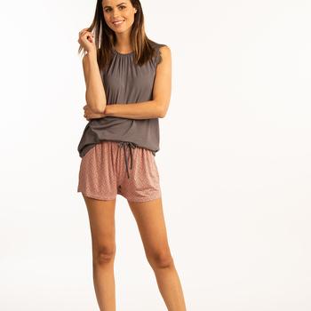 pyjashort pour dame - lux reste S et XL