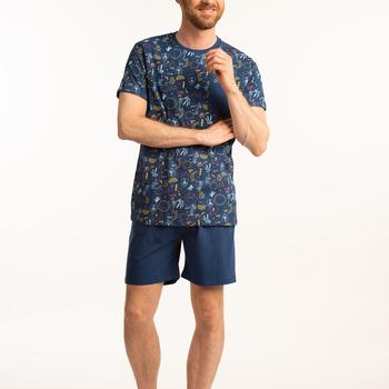 pyjashort coton jersey pour homme - paradise