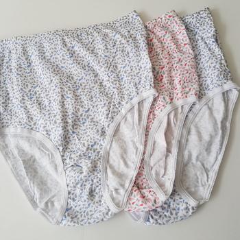 culottes coton pour dame : 3 pour 6€ géo