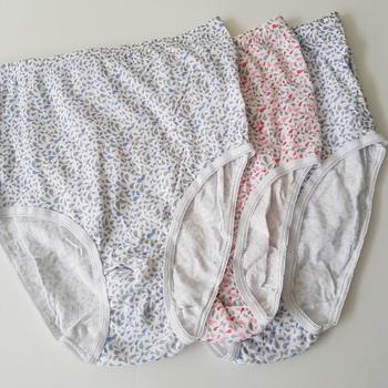 culottes coton pour dame : 3 pour 6€ gouttes