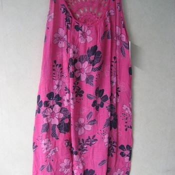 robe bain de soleil brodé dans le dos pour dame en différents coloris