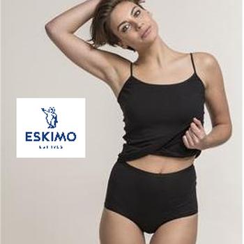 culotte tailleslip coton élasthane pour dame - elements BLANC