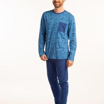 pyjama coton jersey pour homme - octo - reste S & XXL
