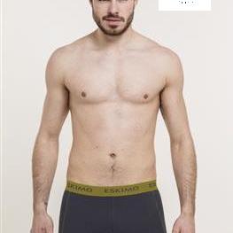 shorty coton-élasthane pour homme - aussi de grandes tailles - duncan marine-jaune