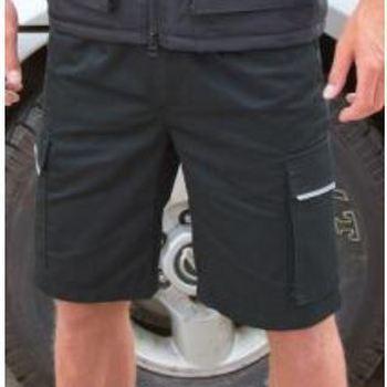 short de travail pour homme : gris - marine ou noir