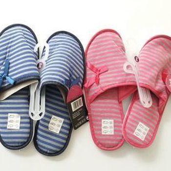 chaussons lignés pour 36/38 & 39/41 - 2 coloris