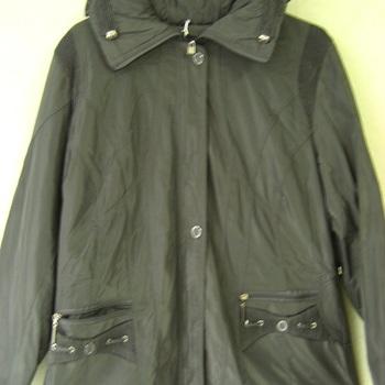 veste grise doublée polaire pour dame jusque taille 56