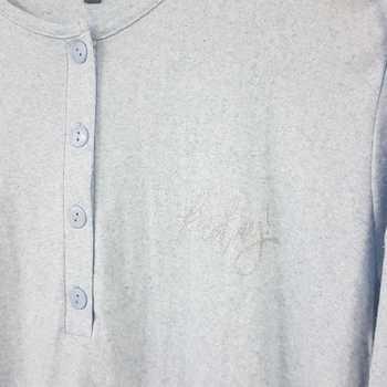 liquette interlock (coton lourd) pour dame chiné ciel - S à XXL