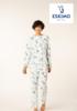 pyjama polaire tout doux pour dame - reste S - mona