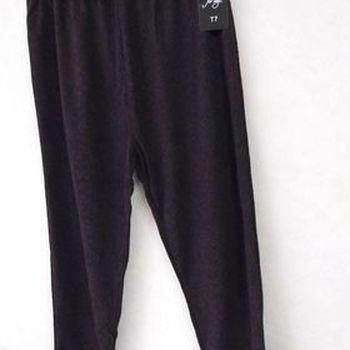 legging pour dame - gris dessin noir - taille 2 à 7