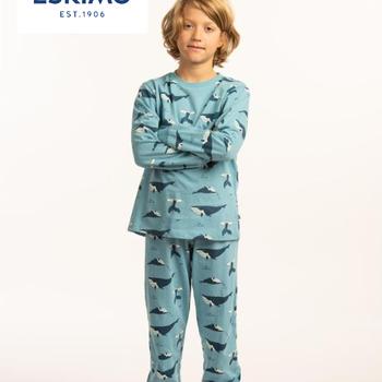 pyjama coton jersey 16 ans - whale