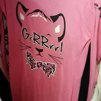 liquette coton jersey - rose grrr - reste 38/40 en PROMO