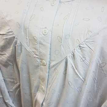 robe de nuit coton jersey - ellipse ciel - reste S