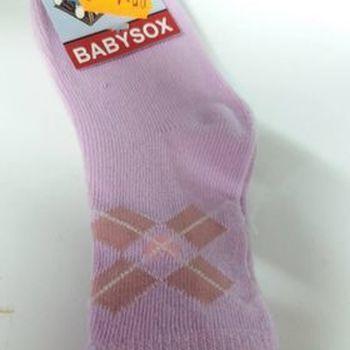 chaussettes bb rose parme 92 en PROMO