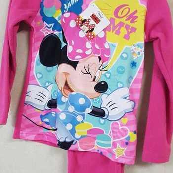 pyjama polaire minnie pour fille - fuschia - reste 6 ans