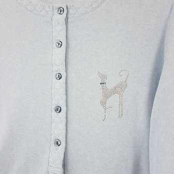 pyjama entre-saison jeans - qualité belge - lévrier - reste M - L - XL - XXL