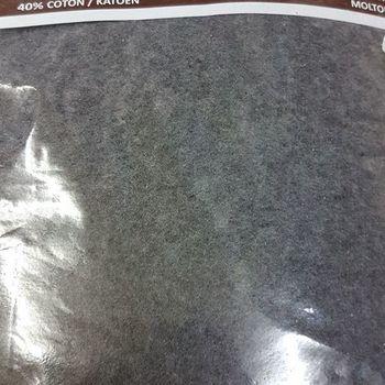 drap housse strech molletonné pour extra grand lit - 2*2m - dourev anthracite