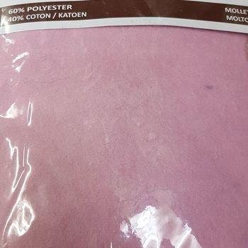 drap housse strech molletonné pour extra grand lit - 2*2m - dourev rose