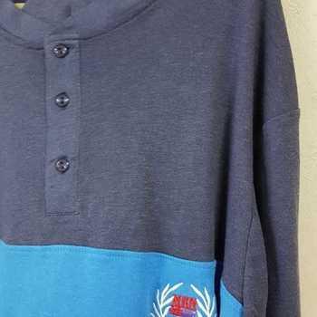pyjama interlock entre-saisons pour homme cambier - bleu - reste S & M