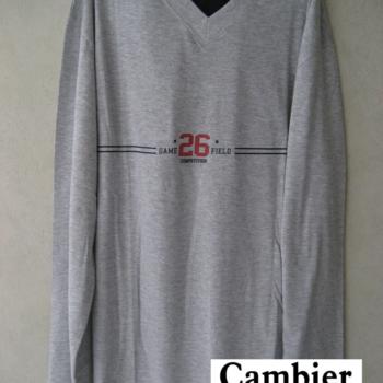 pyjama coton jersey pour homme - V 26 - gris - XL - XXL - 3XL