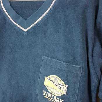 pyjama strech (éponge) vintage pétrole - reste M