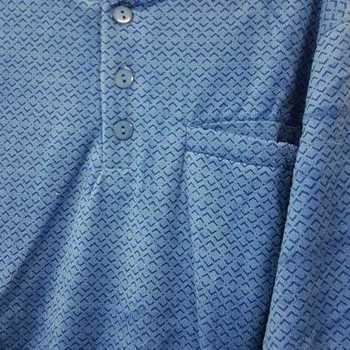 pyjama velours rasé 3 boutons trema royal - reste S - M - XL