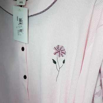liquette cotelé poly-coton pour dame - empire - qualité belge - wilma rose - reste 3XL