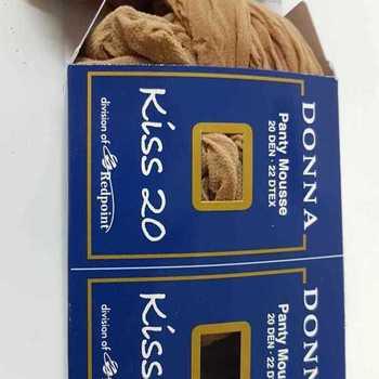 panty mousse oversize : 2 pour 4.50€ - grandes tailles - naturel