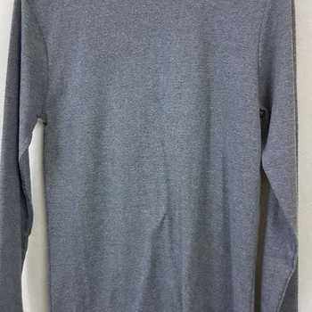 sous-pulls en polyester/coton gris moyen S - XL - XXL (qualité douce)