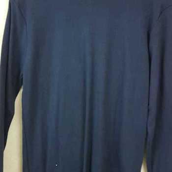 sous-pulls en polyester/coton marine S - M - XL - XXL (qualité douce)