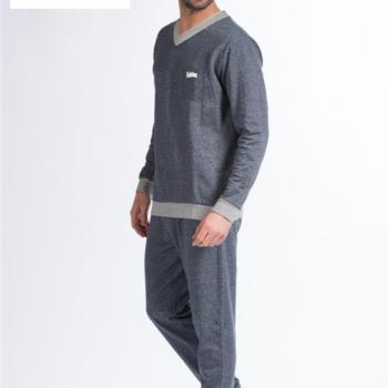 pyjama molletonné pour homme - brooklyn - reste XXL