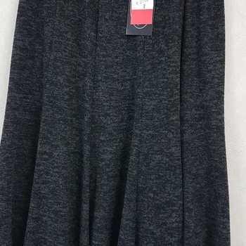 jupe épaisse pour dame - chiné gris 42/44 46/48 50/52