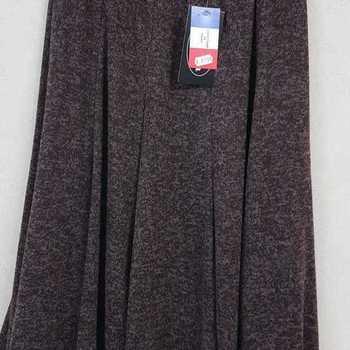 jupe épaisse pour dame - chiné marron 42/44 - 50/52