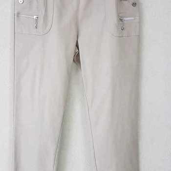 pantalon extra strech pour dame - beige n°3 - 8