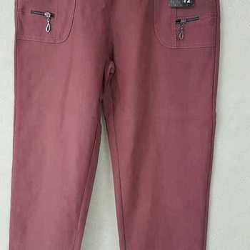 pantalon extra strech pour dame - vieux rose n° 2 - 7
