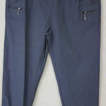 pantalon extra strech pour dame - gris souris n°  7