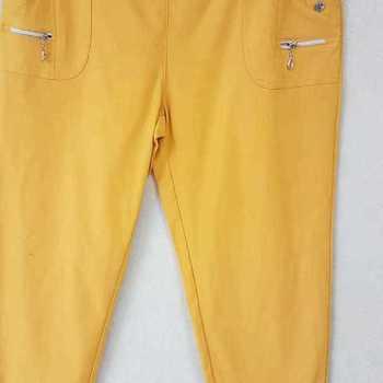pantalon extra strech pour dame - ocre n° 5 - 8