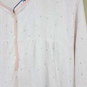 robe de nuit courtes manches pour dame - ambree - rose - 3XL 4XL