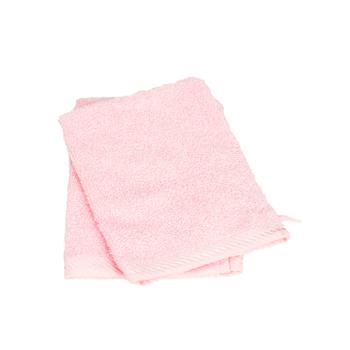 gant de toilette rose 1p