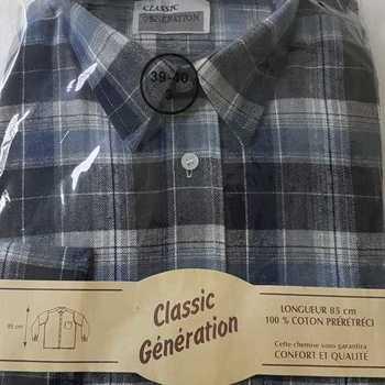 chemise flanelle pour homme - jeans reste M