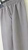 pantalon taille élastique avec boutons fantaisie aux poches -  chiné taupe n°1 à 7