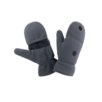moufles ou mitaines polaire thinsulate gris r363