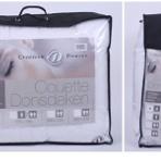couette blanche 1.40*2m extérieur coton pour lit d'1 personne