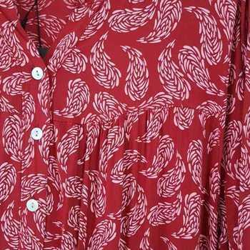 robe extra longues en viscose T 48 - 54 pour dame - bordeau