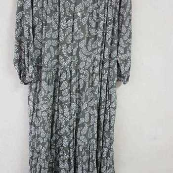 robe extra longues en viscose T 48 - 54 pour dame - kaki