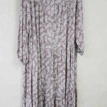 robe extra longues en viscose T 48 - 54 pour dame - taupe