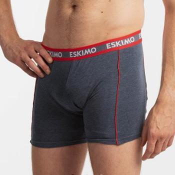 """shorty coton-élasthane """"eskimo"""" pour homme - duncan jeans rouge"""